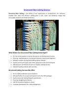 Structured Fiber Cabling Services