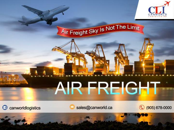 Ppt Air Freight Powerpoint Presentation Free Download Id 7481155