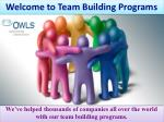 team building games for work