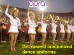 The best custom dance team uniforms