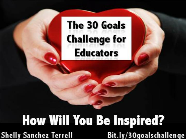 The 30 Goals Challenge: How Will You Be Inspired