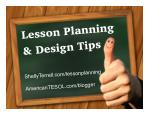 Lesson Design Tips & Resources for ELT