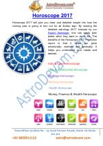 2017 horoscope for all zodiac-signs- Love, Business, Career, Health and Money