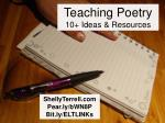 Teaching Poetry: 10 Resources & Ideas
