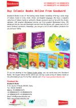 Buy Islamic Books Online From Goodword