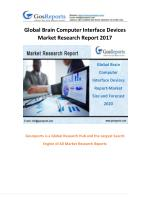Global Brain Computer Interface Devices Market Research Report 2017