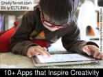 10  Apps for Student Creativity
