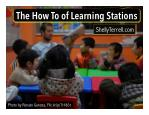 The How to of Learning Stations