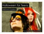 Halloween Activities, Apps, & Resources for Teens