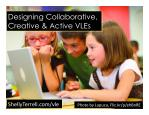Create Collaborative Virtual Learning Spaces