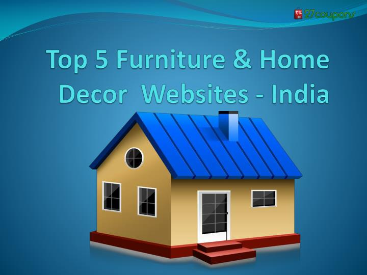 top 5 furniture home decor websites india n.