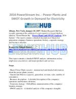 PowerStream Inc. - Power Plants and SWOT Growth Analysis Market Report