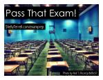 Pass That Exam! Test Prep Strategies & Resources