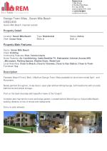 George Town Villas, Residential Property for rent at Seven Mile Beach.