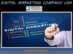 Digital Marketing Company USA
