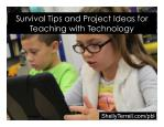 Project Based Learning with Technology