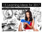 15 Teaching Ideas for 2017