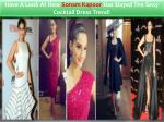 Have A Look At How Sonam Kapoor Has Slayed The Sexy Cocktail Dress Trend!