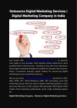 Outsource Digital Marketing Services | Digital Marketing Company in India