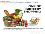 Online Grocery Delivery Kerala|Online Grocery Store India|Order Online Grocery