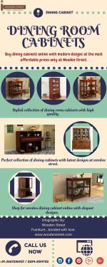 Buy Dining Cabinets Online at best prices