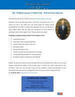 Get Probate Lawyer in New York - Richard Cary Spivack
