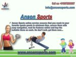 Buy Sports Goods Online from Anson Sports