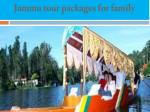 Jammu tour packages for family