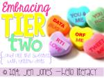 Embracing Tier 2 {...and all the mCLASS sweeties with yellow dots}
