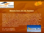 Malaysia tour packages