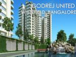Call: ( 91) 9953 5928 48 and Book Today | Godrej United, Whitefield Bangalore