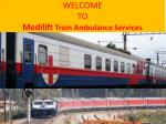 Quick Emergency Train Ambulance Services in Patna by Medilift