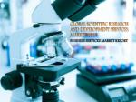 Global Scientific Research and Development Services Market 2017: Aarkstore