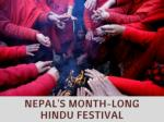 Nepal's month-long Hindu festival