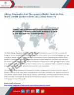 Allergy Diagnostics And Therapeutics Market Size, Share, Growth and Forecast to 2022 | Hexa Research
