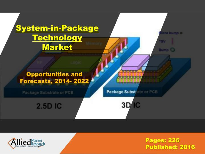 system in package technology market n.