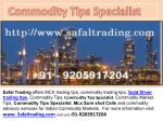 Commodity Tips Specialist | Mcx Tips Specialist