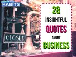 28 Insightful Quotes About Business