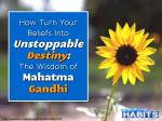 Turn Your Beliefs Into Unstoppable Destiny