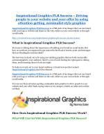 Inspirational Graphics PLR Success review & Inspirational Graphics PLR Success $22,600 bonus-discount