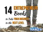 14 Entrepreneur Books to Take Your Business to the Next Level