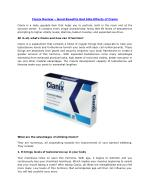 Cianix Review – Good Benefits And Side Effects of Cianix
