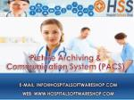 HospitalSoftwareShop PACS | A Powerful, Web-based, Cost-Effective PACS