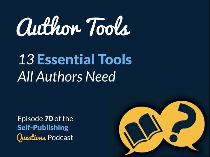 author tools 13 essential tools all authors need n.