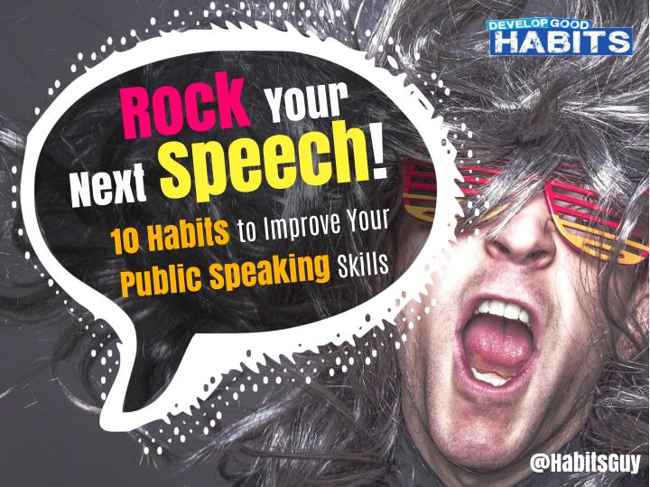 rock your next speech n.
