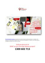 Specialized And Planned Advertising Flyer Distributor in Canberra