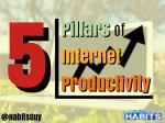 5 Pillars of Internet Productivity