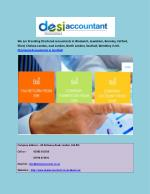 Chartered Accountants in Southall, Ilford,Bexley and Dartford in UK