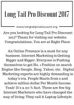 Long Tail Pro Discount 2017