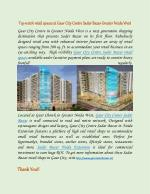 Gaur Sadar Bazar retail shops in Gaur City, Noida Extension